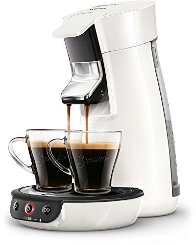 Philips Senseo HD7829/00 Viva Café Kaffeepadmaschine (Kaffee Boost Technologie) weiß