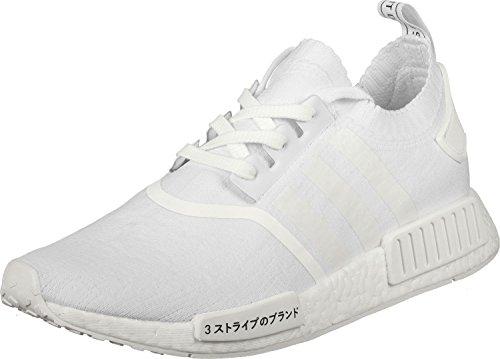 adidas Herren NMD_R1 Primeknit Sneaker, Weiß (Footwear White), 40 EU