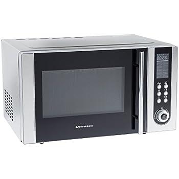 ultratec mikrowelle mwg500 mit grill und umluft 1200 watt 23 liter garraum 95 minuten timer mit. Black Bedroom Furniture Sets. Home Design Ideas