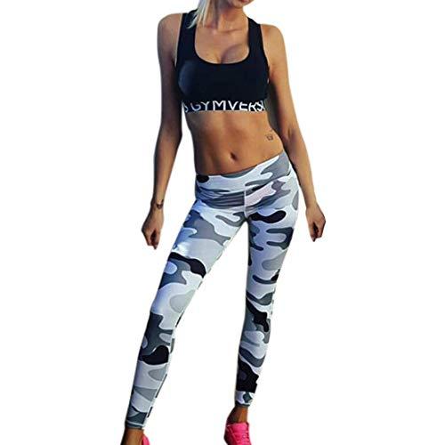 Jaminy Yogahosen Für Damen, Frauen Sport Yoga Workout High Taille Running Pants Fitness Elastische Leggings Strumpfhose Leggins Hose Strumpfhose Elastische Taille (S)