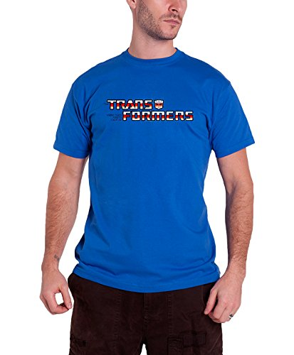 Transformers T Shirt Autobot Logo Nue Offiziell Hasbro Herren Blau (Autobots Hoodie)