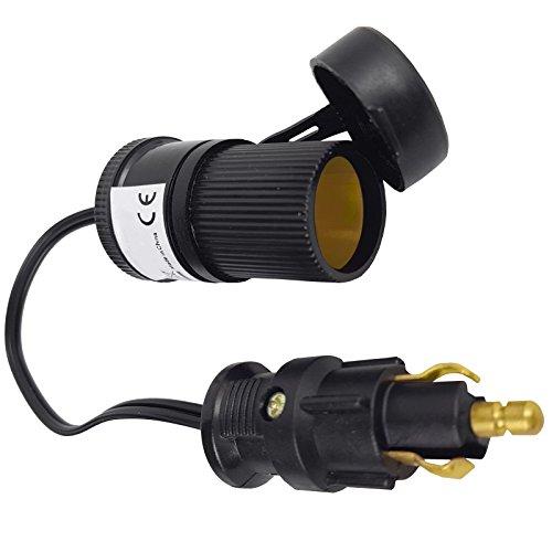Universalbuchse Zigarettenanzün der Adapter Navi 12 24 Volt Kabel für PKW LKW - 12-volt-kabel