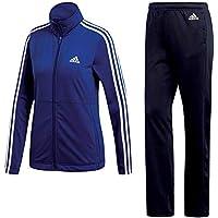 adidas Back2Bas 3S TS Chándal, Mujer, Azul/Blanco (Mystery Ink f17), XS