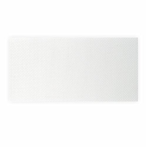 Creleo 791729 Aida-Stoff, 1 Bogen, 50 x 49 cm, weiß