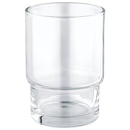 GROHE Essentials | Badaccessoires - Kristallglas | 40372001 - Glas-zahnputzbecher