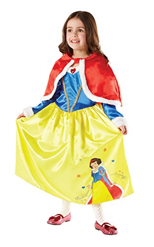 Rubie's 3881856 - Snow White Winder Wonderland Child, M (Winter Wonderland Fancy Dress Kostüm)