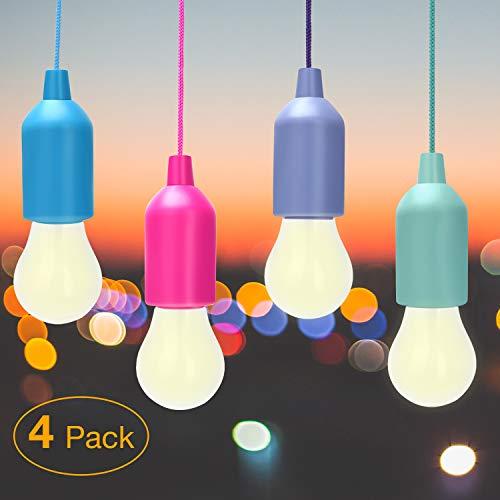 Lampade LED Lamp, WEBSUN Colors Lampadine, Lampadina, Luce Decorativa,LED Lampada da Campeggio a LED, Luce da Campeggio Luminosa Per Il Campeggio Escursionismo Luce da Emergenza a Pesca Notturna