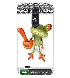 ColourCraft Funny Image Design Back Case Cover for LG G3 BEAT