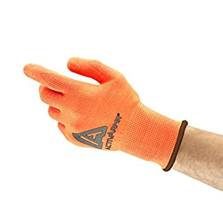 Ansell ActivArmr 97-013 Multi-purpose gloves, mechanical protection, Orange, Size 10 (Pack of 12 pairs)