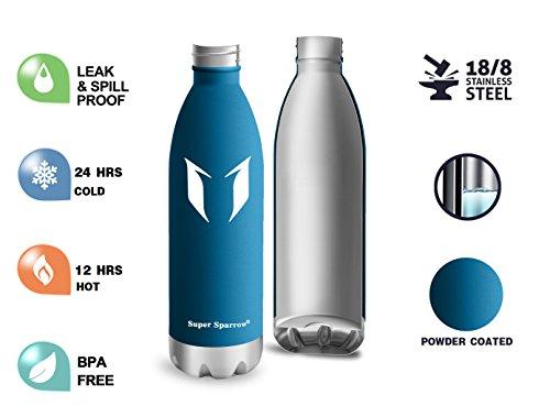 immagini dettagliate vendita usa online stile unico Super Sparrow Bottiglia d'Acqua...