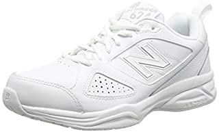 New Balance MX624AW4-624, Chaussures Multisport Indoor homme, Blanc (White 100), 43 EU (9 UK) (B0191NEB74) | Amazon price tracker / tracking, Amazon price history charts, Amazon price watches, Amazon price drop alerts