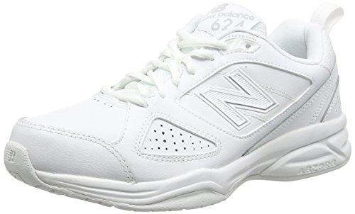 New BalanceMX624AW4 - Scarpe Sportive Indoor uomo, Bianco (White 100), 42 EU