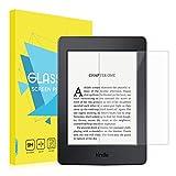 MoKo Protection d'écran Comaptible avec Kindle 10ème génération 2019/Kindle 8ème 2016,Kindle Paperwhite (2012, 2013, 2015 et 2016), en Verre Trempé de Dureté 9H avec Un Revêtement Oléophobique