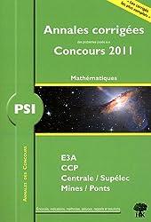 PSI mathématiques 2011