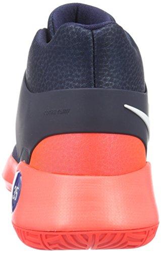 Nike Kd Trey 5 Iv, Chaussures de Basketball Homme Bleu (Obsidian/White-Bright Criimson-Deep Royal)