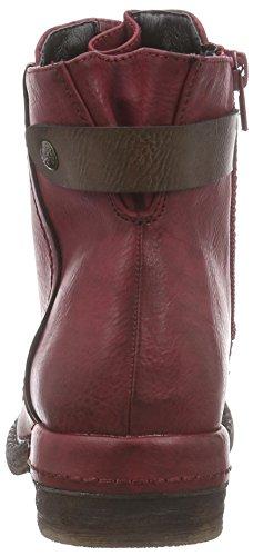 Rieker 90063, Bottes Classics de hauteur moyenne, doublure chaude femme Rouge - Rot (wine/schoko / 35)