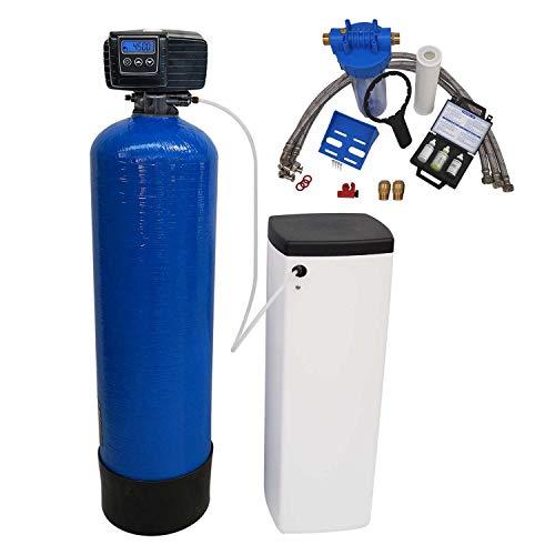 Adoucisseur d'eau bi bloc 30L fleck 5600 SXT complet