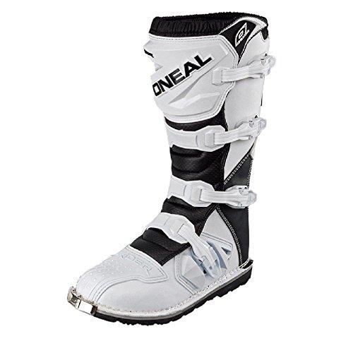 ot Weiß Kinder MX Stiefel Moto Cross Enduro MX FR DH, 0324R-2, Größe 30 ()