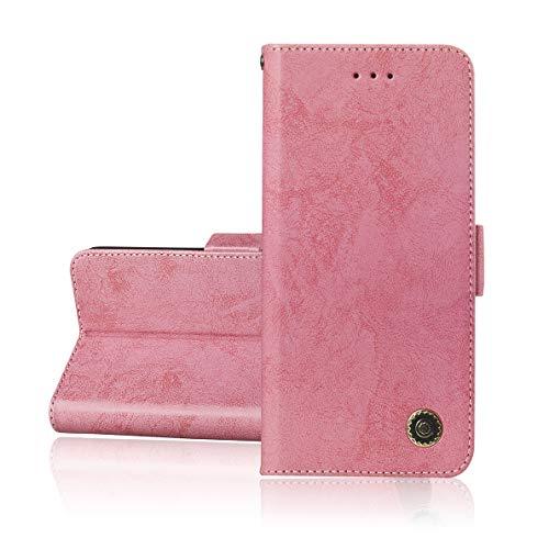 SHUYIT Custodia Nokia 5.1 Plus 2018 / Nokia X5 Cover, Portafoglio Custodia in Pelle PU Case Retro Cover Stand Carta Slot Chiusura Magnetica Caso Wallet Flip Cover per Nokia 5.1 Plus 2018 / Nokia X5