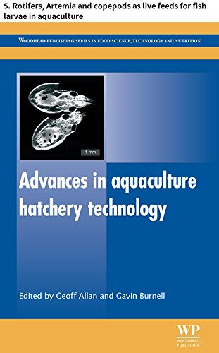 Advances in aquaculture hatchery technology: 5. Rotifers, Artemia and copepods as live feeds for fish larvae in aquaculture (Woodhead Publishing Series ... Technology and Nutrition) (English Edition) -