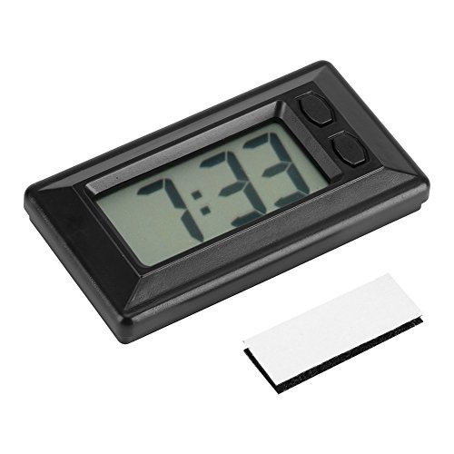 Reloj Portátil LCD Mesa Digital Coche Tablero de Instrumentos ...