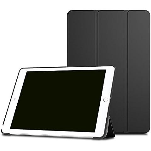 MoKo iPad Pro 9.7 Funda - Ultra Slim Lightweight Función de Soporte Protectora Plegable Smart Cover Durable (Auto Sueño / Estela) para Apple iPad Pro 9.7 Pulgadas 2016 Tableta, Negro