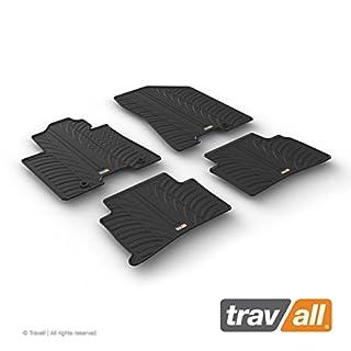 Travall Mats Gummifußmatten TRM1281 – Allwettermatten nach Maß Fussmatten Set