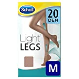 Scholl Medias de compresión ligera Light Legs 20DEN color carne M