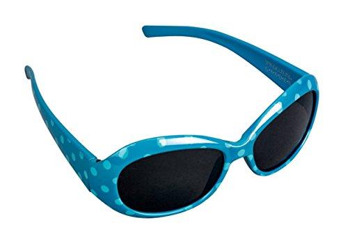 Preisvergleich Produktbild Kinder Sonnenbrille 100% UV-Schutz. Filterkategorie 3: starke Tönung (blau)