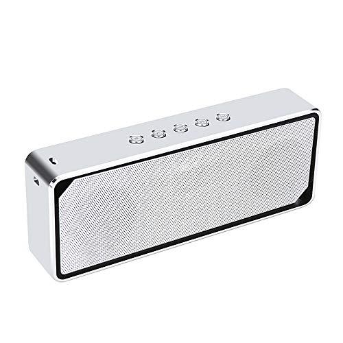 Zhao Li Lautsprecher Kabelloser Bluetooth-Lautsprecher - Metall-Audio-Mobilcomputer Universal-Subwoofer-Karte Stereo Low Audio / 161.6X62.6X26.2mm klingen