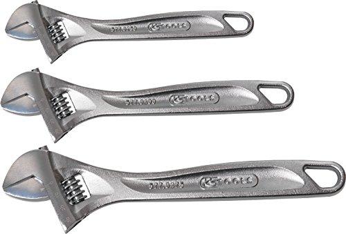 KS Tools 577.0399 Lot de 3 Clés à molettes 10/12/15\\