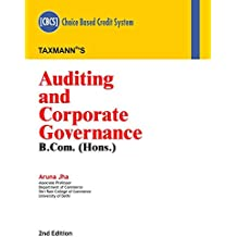Auditing and Corporate Governance (B.Com-Hons.) (CBCS) (2nd Edition,January 2019)