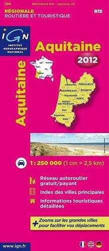 R15 AQUITAINE 2012  1/250.000