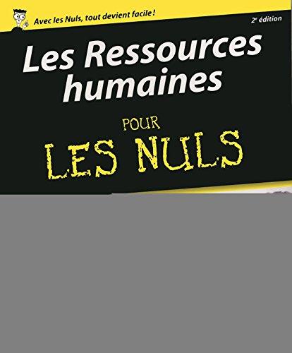 Les Ressources humaines pour les Nuls, 2e édition par Sabine WOJTAS