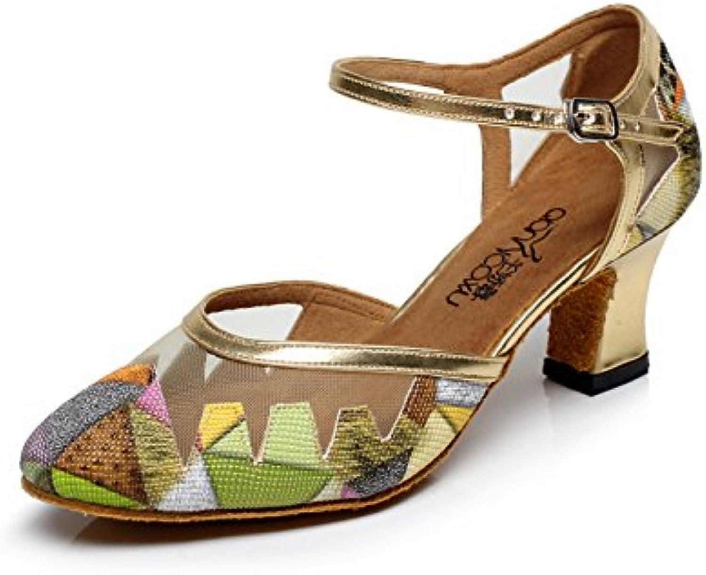 be4822cfcfd JSHOE Women s Dance Shoes Latin Salsa Salsa Salsa   Tango   Tea   Samba    Modern   Jazz Shoes Sandals High Heels