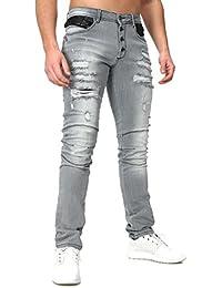 Carisma - Jeans slim homme Carisma 69 Gris