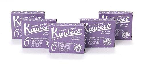 Kaweco 30 Cartouches d'Encre violet