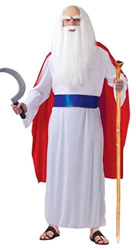 KOSTÜM - DRUIDE - Größe 52-54 (L) (Druide Kostüm)