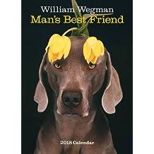 William Wegman Man's Best Friend 2018 Calendar