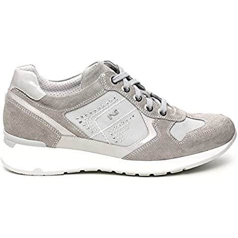 Nero Giardini - Zapatillas para mujer Gris gris