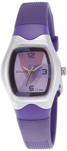 Sonata Analog Purple Dial Women's Watch - NF8989PP01J