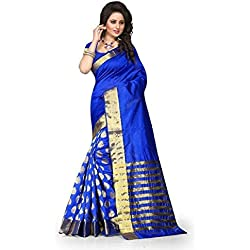 Today's Deals Sarees Women's Cotton Silk Sarees By Shailaja Sarees Deal of the Day