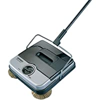 Leifheit 11410 Classic Manual Rotaro Carpet Sweeper with Natural Brushes