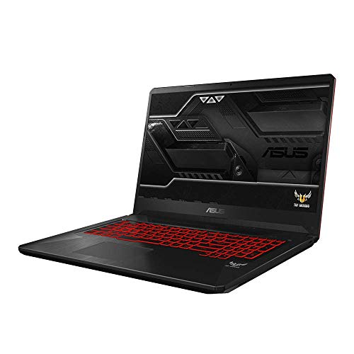 Asus TUF Gaming FX705GM 90NR0122-M02960 43,9 cm (17,3 Zoll Full HD Matt) Gaming Notebook (Intel Core i7-8750H, 16GB RAM, 256GB SSD, 1TB HDD, NVIDIA GeForce GTX 1060 6GB, Win 10 Home) red matter Asus Notebook-gaming Laptop