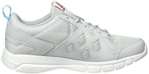 Reebok Trainfusion Nine, Sneaker Donna Grigio (cloud grey/Crisp Blue/ White/Black)