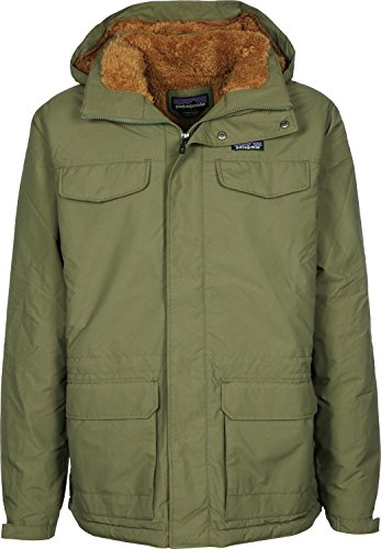 Patagonia Isthmus Parka L fatigue green/bear brown