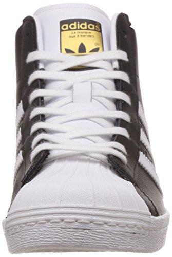 Adidas M19512, Chaussures de basketball Femme Multicolore (Cblack/Ftwwht/Goldmt)