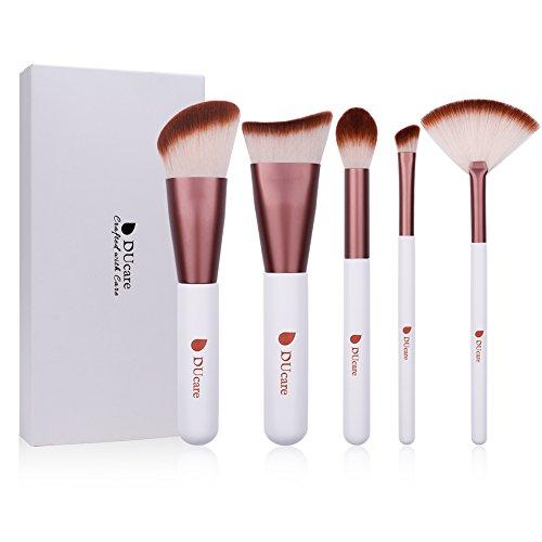 DUcare Set pinceles maquillaje Kabuki 5