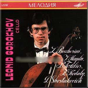 Boccherini, Haydn, Tortelier, Kodaly, Shostakovich - Cello pieces - Leonid Gorokhov
