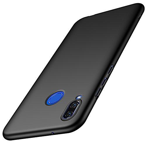 anccer Huawei Nova 3 Hülle, [Serie Matte] Elastische Schockabsorption & Ultra Thin Design für Huawei Nova 3 (Glattes Schwarzes)
